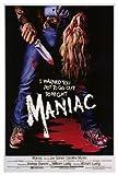 Maniac Poster Movie 27x40 Joe Spinell Caroline Munro Gail Lawrence