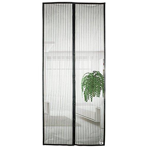 apalus magnet fliegengitter t r insektenschutz 100x220 cm 90x210 cm ebay. Black Bedroom Furniture Sets. Home Design Ideas