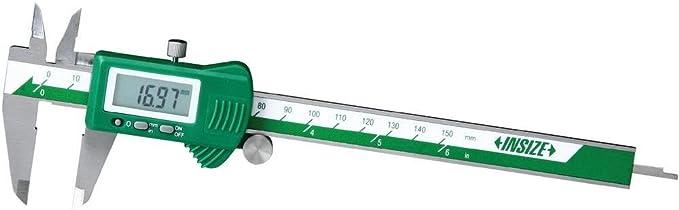 INSIZE 1139-150 Calibre digital pl/ástico, 0-150 mm
