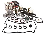 eagle talon timing cover - Evergreen TBK167VC2 95-99 Mitsubishi Eclipse Eagle Talon Turbo 2.0 4G63T Timing Belt Kit Valve Cover Gasket GMB Water Pump