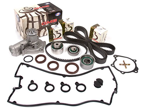 Evergreen TBK167VC2 95-99 Mitsubishi Eclipse Eagle Talon Turbo 2.0 4G63T Timing Belt Kit Valve Cover Gasket GMB Water Pump - Eagle Talon Turbo