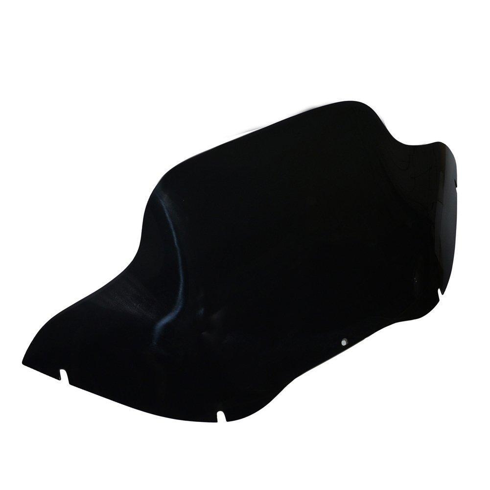 Smoke Black 11.5' 9.5' Motorcycle Wave Windshield Windscreen Screen For Harley Road Glide FLTR FLTRX EFI FLTRI 1998-2013 1999 2000 2001 2002 2003 2004 2005 2006 2007 2008 2009 2010 2011 2012 Beautyexpectly