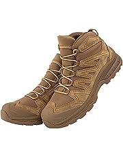 Tactische Laarzen voor Heren Waterdichte SuèDe Militaire Laarzen Laag Uitgesneden Veters Outdoor Desert Trekking-Schoenen Ultralichte Ademende Veiligheidsschoenen voor Werk