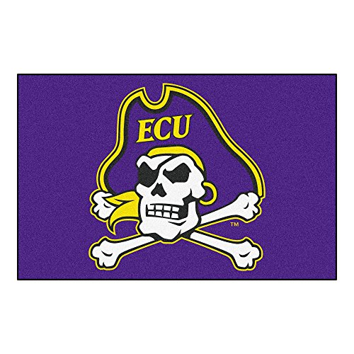 Pirates Rug Carolina East - East Carolina University Logo Area Rug (All Star)