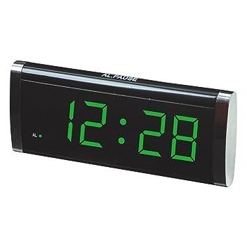 Reloj LED Digital, Reloj de escritorio, verde: Amazon.es: Deportes y aire libre