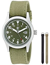 Smith & Wesson Men's SWW-1464-OD Military Multi Canvas Straps Watch