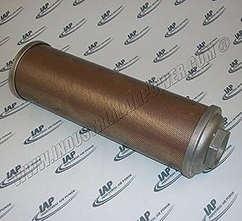 """Silenciador de escape de aire 2, """"FNPT – diseñado para uso con sullair"""