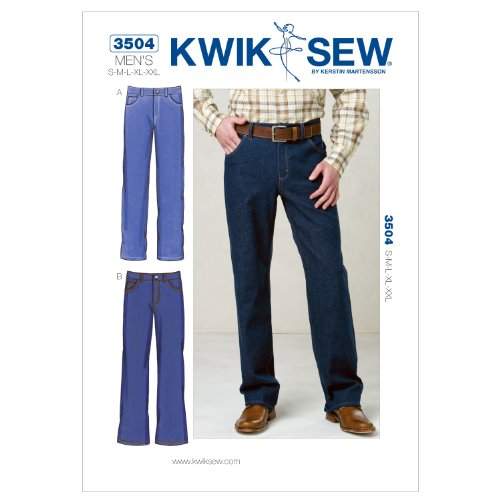 KWIK-SEW PATTERNS Kwik Sew K3504 Jeans Sewing Pattern, Size S-M-L-XL-XXL by KWIK-SEW PATTERNS