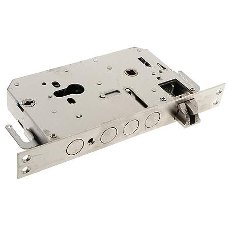 Qrity Home Door Single Cylinder Security Lock//Deadbolt Stainless Steel, Brass