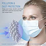 SUNCOO Disposable Face Mask Dust Particle 3-Layer