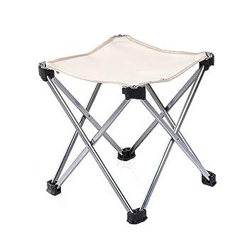 CSQ-portable Taburete para adultos, espesar sillas plegables ...