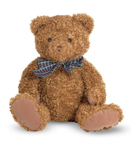Fuzzy Teddy Bear (Melissa & Doug Little Chestnut Teddy Bear Stuffed Animal (9 inches tall))
