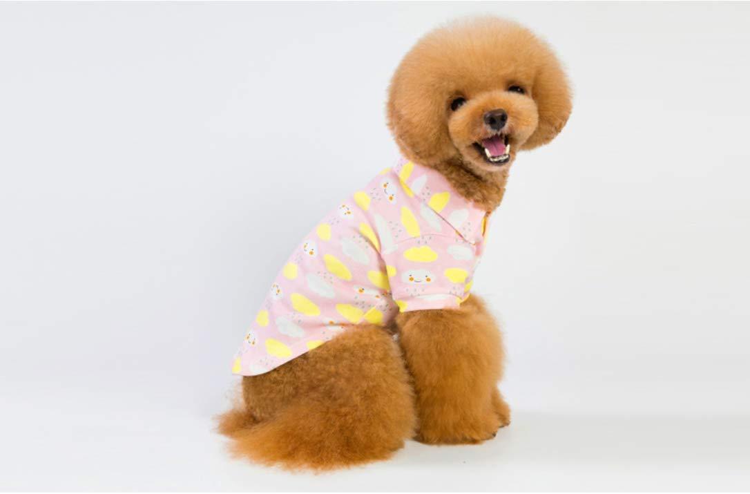 PZSSXDZW Ropa Nueva para Mascotas Camisa de Polo de Algodon Letra ...
