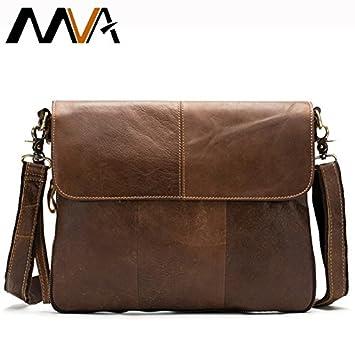 44df28eb6bd1 Genric dark coffee, China, 33cm : Fashion Genuine Leather Men Bag Men  Messenger bags