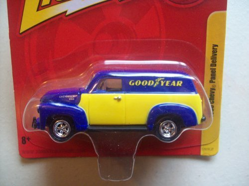 Johnny Lightning Forever R10 Good Year 1950 Chevy Panel Delivery by Johnny Lightning