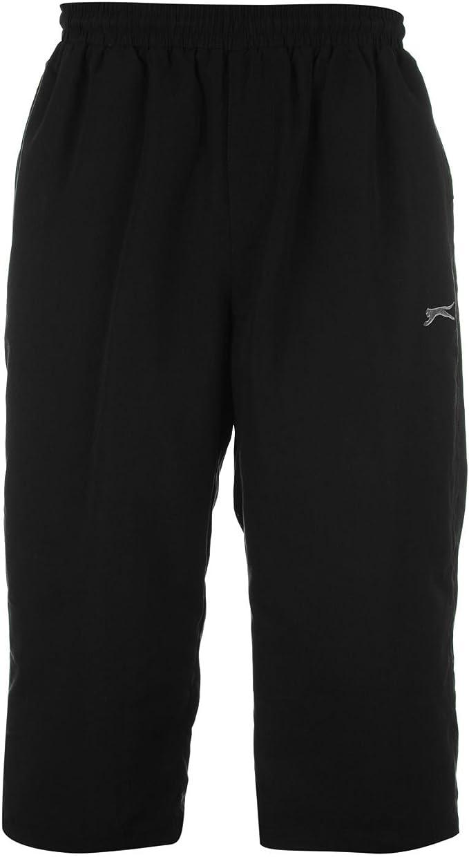 Slazenger – Pantalones Tres Cuartos de 3/4 de Deporte Pantalones ...