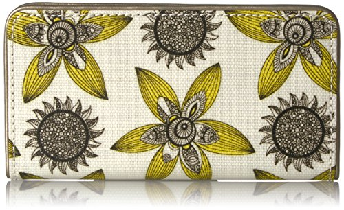 Used, Sakroots Women's Artist Circle Slim Wallet, Sunshine for sale  Delivered anywhere in USA
