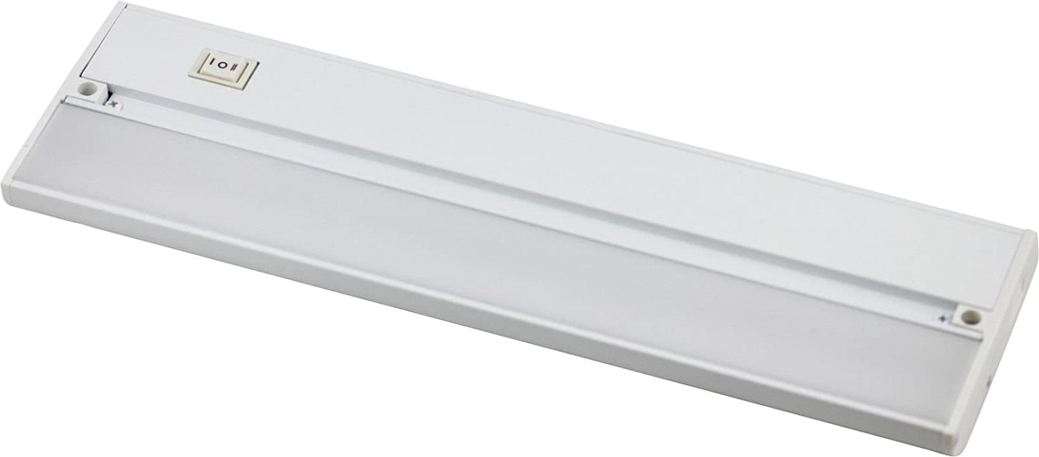 22 White 120v Under Cabinet LED 520 Lumen Warm White Light Hard Wire Linkable with Knock Outs Contractor Electrician Grade ETL – L-6 Series