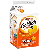 Pepperidge Farm Goldfish Crackers, Cheddar, 30 Ounce (Pack of 6)