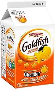 Pepperidge Farm, Goldfish, Crackers, Cheddar, 30 oz, Carton