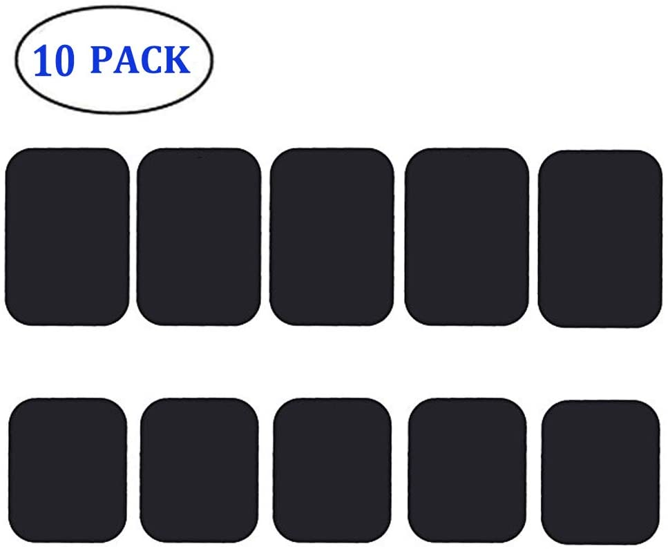 10 Pack Cell Phone Magnetic Plate Magnetic Mount Phone Magnet Sticker for Phone Magnet Car Mount Magnet JTS Mount Metal Plate