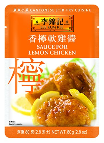 Lee Kum Kee Chicken Sauce - Lee Kum Kee Sauce For Lemon Chicken, 2.8-Ounce Pouches (Pack of 12)