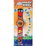 cartoon image of Angry Birds projector wrist watch
