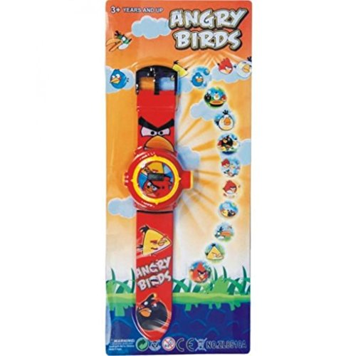 Price comparison product image cartoon image of Angry Birds projector wrist watch