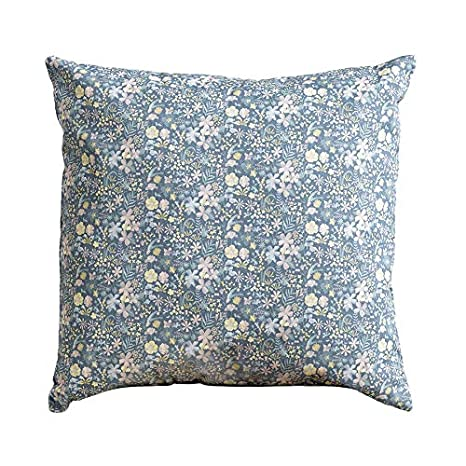 Kenay Home Libby Cojín Decorativo, Azul, 45X45cm: Amazon.es ...