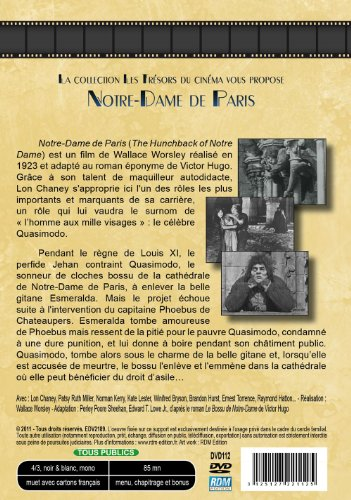 Notre-dame de paris [Francia] [DVD]: Amazon.es: Chaney, Lon ...
