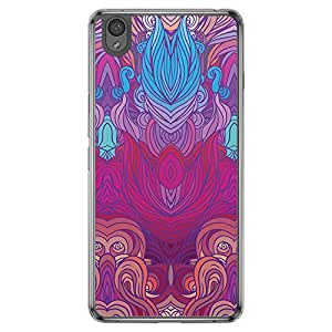 Loud Universe Oneplus X Hair Hair 13 Printed Transparent Edge Case - Multi Color