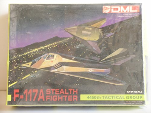 DML Models---1/144 Scale F-117A Stealth Fighter---Plastic Model -