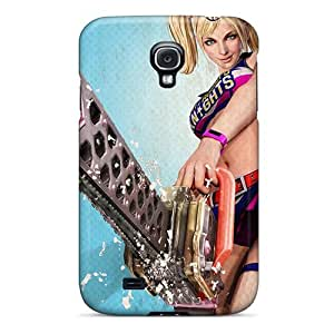 For Galaxy S4 Tpu Phone Case Cover(lollipop Chaisaw)