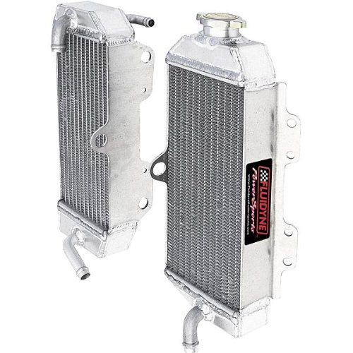 Fluidyne Powersports Radiators - FLUIDYNE POWERSPORTS RADIATOR CRF 250 LEFT FPS11-6CRF250-L