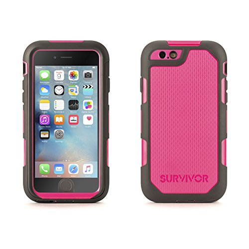 Griffin Technology Pink/Grey Survivor Extreme for iPhone ...