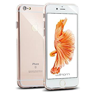 """iPhone 6S Case, Willnorn [Norn One] Ultra Thin Full Body Coverage Protection Hard Slim iPhone 6s Case with Tempered Glass Screen Protector for Apple iPhone 6 / 6s 4.7"""""""