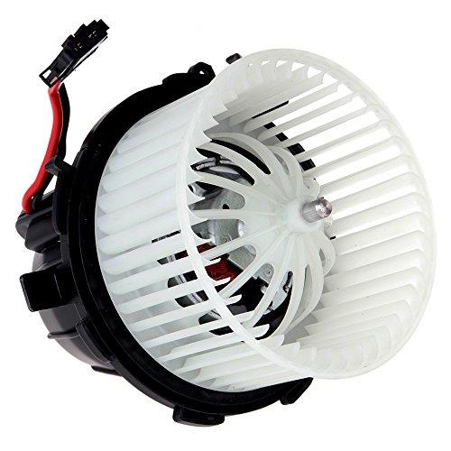 SCITOO ABS Plastic Heater Blower Motor w/Fan HVAC Resistors Blowers Motors fit 2009-2012 Audi A4/2008-2012 Audi A5/2009-2016 Audi Q5/2009-2012 Audi S4/2008-2012 Audi S5 Front