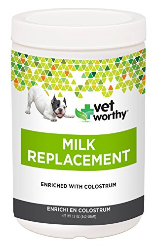 Vet Worthy Milk Replacement for Dogs (12 oz (Canine Puppy Milk)