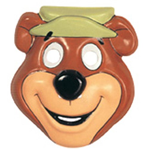[Child's Yogi Bear PVC Costume Mask] (Yogi Bear Halloween Costume)