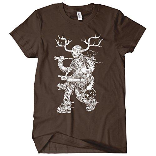 (Smash Transit x Beery Method Women's Lumbering Jack T-Shirt - Brown, Large)