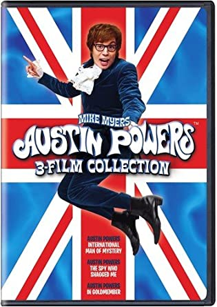 amazon com austin powers 3 film collection 3pk various movies tv