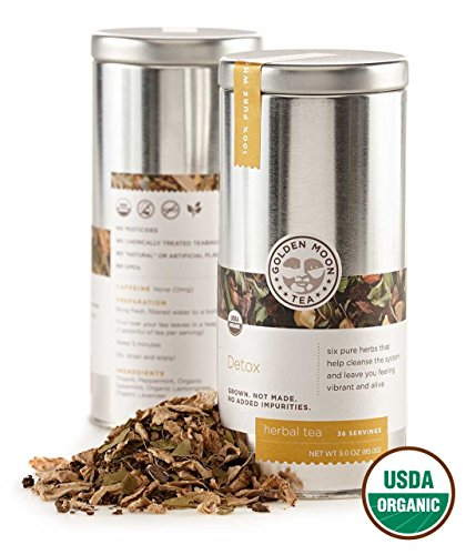 Golden Moon Tea Organic Servings product image