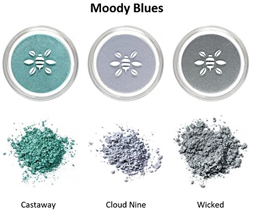 Honeybee Gardens PowderColors Trio Collection (Blue)