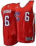 DeAndre Jordan Los Angeles Clippers Adidas Swingman Jersey Red (Medium)