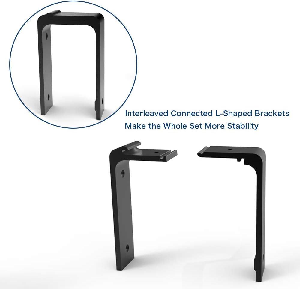 8FT//243cm Bypass Quincaillerie Kit de Rail pour Porte Coulissante Hardware Porte Coulissante Ensemble Industriel pour Bypass Deux Porte Suspendue en Bois