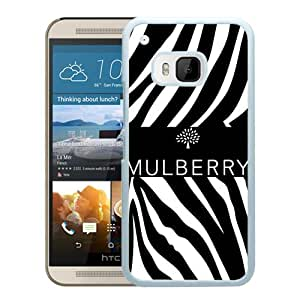 Hot Sale HTC ONE M9 Case ,Unique And Lovely Designed Case With Mulberry 15 White HTC ONE M9 Cover