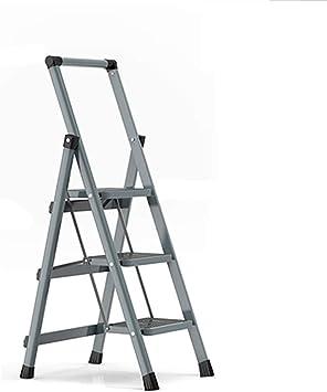 Multifuncional Escalera del dormitorio, Escalera de cinco escalones de metal Escalera de cuatro escalones del hogar Escalera de tres escalones del pasillo Escalera multifunción plegable estable: Amazon.es: Bricolaje y herramientas