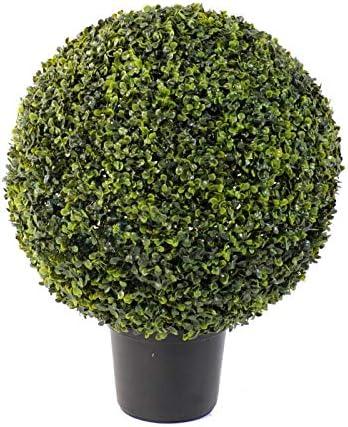 Haut de Gamme Kalendo Buis Artificiel Boule Pot 60 cm Fabrication fran/çaise T6841 /• Plante Artificielle