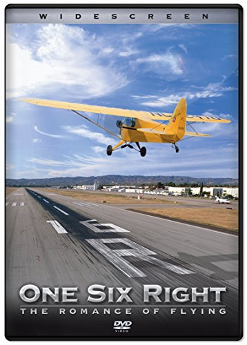 * Now Available on Blu-ray! * One Six Right: The Romance of Flying has remained a unique and celebrated aviation film in the decade since it was first released. It is an exhilarating documentary film that celebrates the unsung hero of aviation the lo...