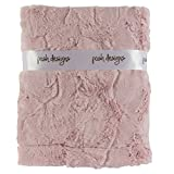 """Ultra Soft Plush Baby Receiving Blanket - Luscious, Luxurious and Cuddly Minky Reversible Blankie - Multicolor Baby Bloom - 30"""" x 36"""" - by Posh Designs"""